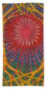 Rays Of Life Beach Towel