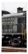 Reading Rr Engine 467 Beach Towel