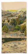 Realm Of Golden West Dakota Beach Towel