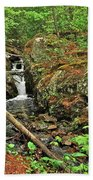 Reany Falls 3 Beach Towel