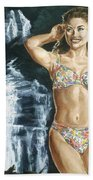 Rebecca Gayheart Beach Sheet