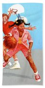 Recess Beach Towel by Cliff Spohn