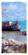 Recycled In Grenada Beach Towel