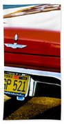 Red '57 T-brid Beach Towel