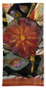 Red Affection Beach Towel by Angela L Walker