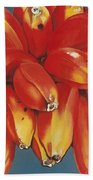 Red Bananas Of Jocotepec Beach Towel