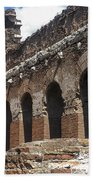 Red Basilica Scene 3 Beach Towel