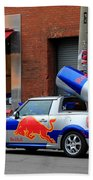 Red Bull Car Beach Towel