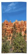 Red Canyon Tableau Beach Towel