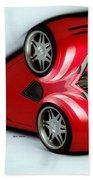 Red Car 007 Beach Towel