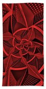 Red City Beach Towel