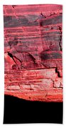 Red Cliff Beach Towel