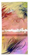 Red Convertable Beach Towel by Snake Jagger