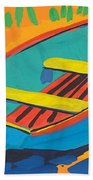 Red Deck Beach Towel