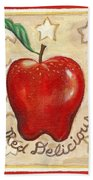 Red Delicious Two Beach Towel