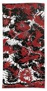 Red Devil U - Original Beach Towel