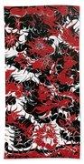 Red Devil U - V1cbs36 Beach Towel