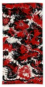 Red Devil U - V1vhkf100 Beach Towel