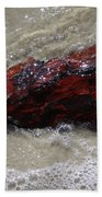 Red Drifter Beach Towel