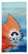Red Drum Tailing Beach Towel