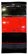 Red Fiesta Mk7.5 Beach Towel