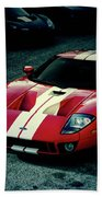 Red Ford Gt Beach Towel