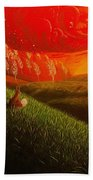 Red Fox..peaceful Beach Towel