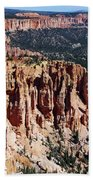 Red Hoodoos Of Bryce Canyon National Park Beach Towel