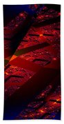 Red Hot Confetti Beach Towel