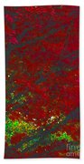 Red Maple 3 Version 1 Beach Towel