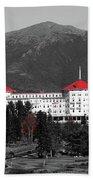 Red Mount Washington Resort Beach Towel