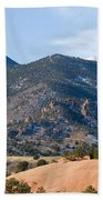 Red Mountain And Pikes Peak Beach Towel