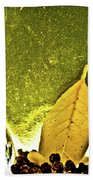Red Pepper Bay Leaf And Thyme Beach Towel