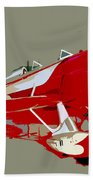 Red Racer Beach Towel