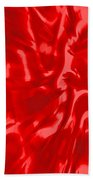 Red, Red Lava Beach Towel