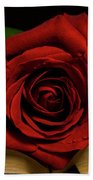 Red Red Rose Beach Towel