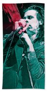 Red Right Hand, Nick Cave Beach Towel