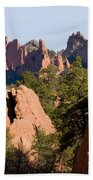 Red Rock Canyon And Garden Of The Gods Beach Towel