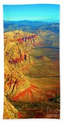 Red Rock Canyon Nevada Vertical Image Beach Towel