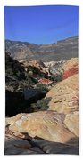 Red Rock Canyon Nv 7 Beach Towel