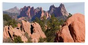 Red Rock Canyon Open Space Park And Garden Of The Gods Beach Towel