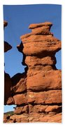 Red Rock Formation  Beach Towel