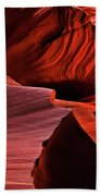 Red Rock Inferno Beach Towel