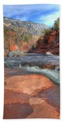 Red Rock Sedona Beach Towel