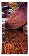 Red Rocks Beach Towel