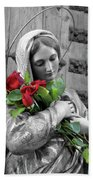 Red Roses Beach Towel