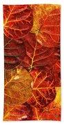 Red Sea Grapes By Sharon Cummings Beach Towel
