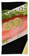 Red Snapper. Beach Towel