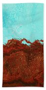 Red Tide Beach Towel