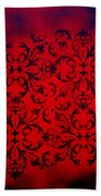 Red Velvet By Madart Beach Towel